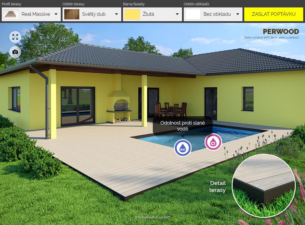 Perwood – 3D web konfigurátor