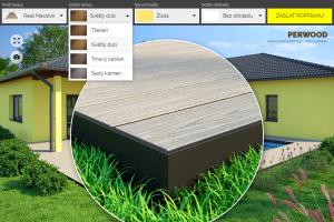 Perwood - 3D web konfigurátor