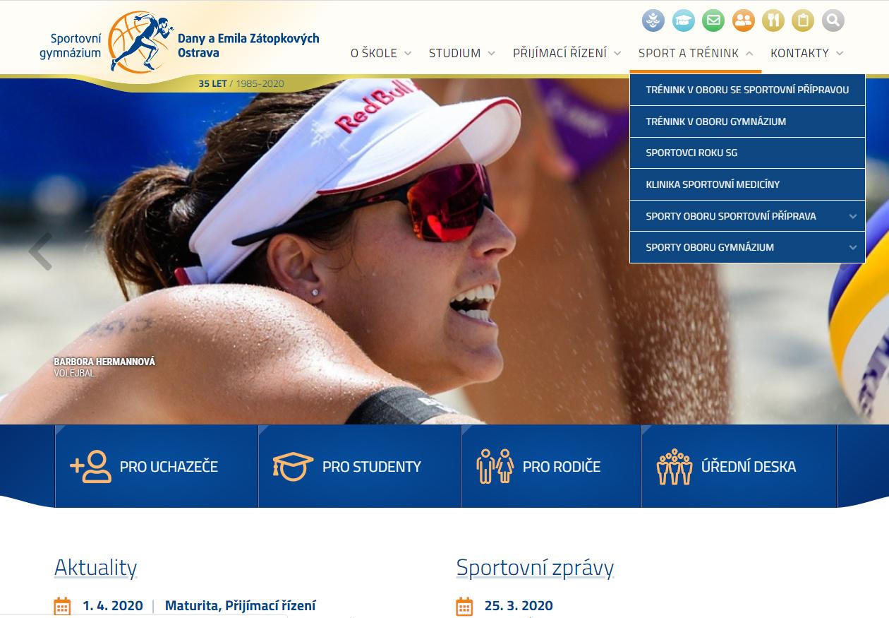 Sportovní Gymnázium Ostrava