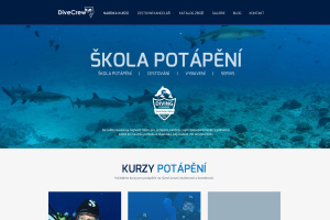 Zpracování webu  DiveCrew.cz