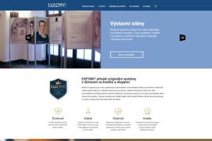 web Nabídka výstavních stěn