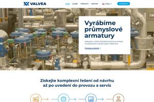 Webová prezentace VALVEA